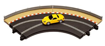 Scalextric Track Accessory 1 -Racing Curves, w/ Porsche +misc.-
