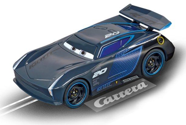 Carrera GO Disney/Pixar CARS 3 Jackson Storm 1/43 Scale Slot Car