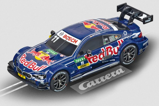 Carrera BMW M4 DTM Red Bull 1/43 Scale Slot Car
