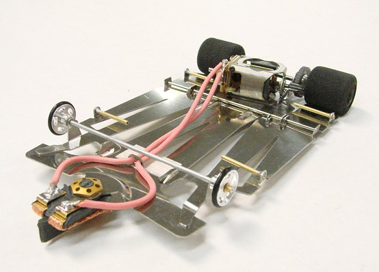 JK Cheetah-11 w/ Koford Contender H.P. Slot Car - less body