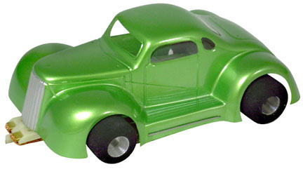 """Champion 1/32 LEGENDS '37 Chevy Coupe - Clear .010"""" Body-"""