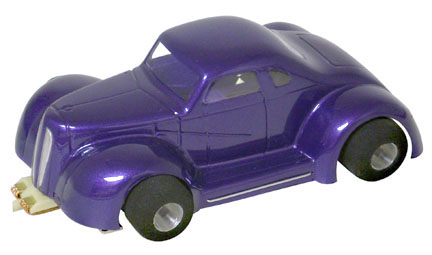 """Champion LEGENDS '37 Dodge Coupe - Clear .010"""" Body-"""