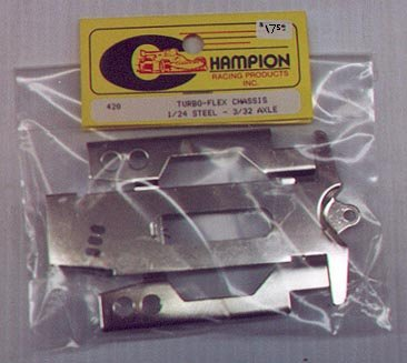 Champion Turbo-Flex Slot Car Chassis