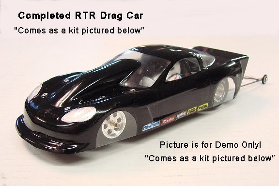 WRP Pro Drag Car Complete Kit-