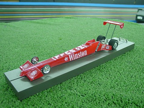"DRS 2002 ""True Scale"" Dragster Clear Body"