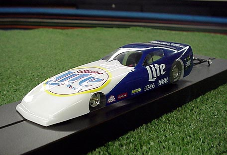 DRS Vette Funny Car Clear Drag Body