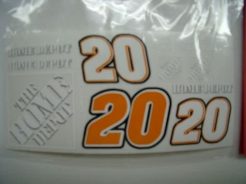 """Go Fast """"20 Home Depot"""" Vinyl Decal-"""