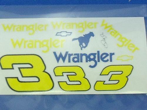 """Go Fast """"3 Wrangler"""" Vinyl Decal"""