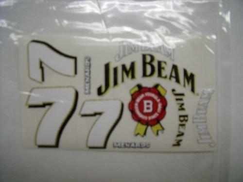 "Go Fast ""7 Jim Beam"" Vinyl Decal-"