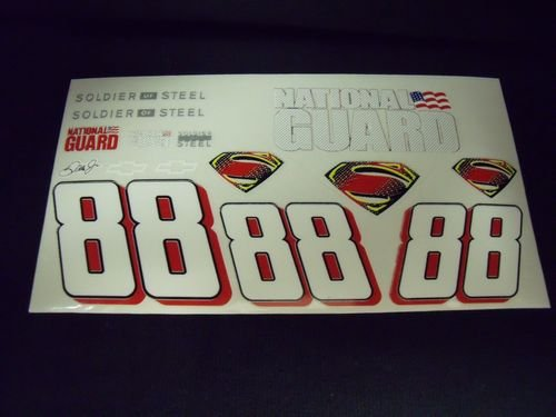 "Go Fast ""88 Super Man"" Vinyl Decal"