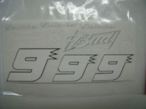 "Go Fast "" 9 Budweiser Dodge"" Vinyl Decal-"