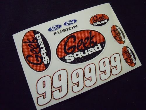 "Go Fast ""99 Geek Squad"" Vinyl Decal"