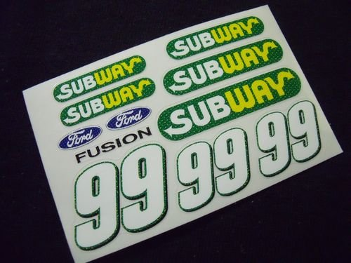 "Go Fast ""99 Subway"" Vinyl Decal"