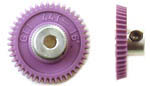 GT1 42t-44t 72p Angled Spur Gear-