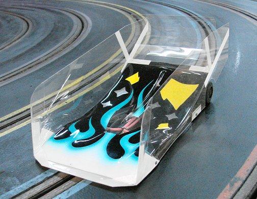 Pro Slot Perimeter Chassis w/Mick A/Kelly Ultra Lite B12 H.P.!-