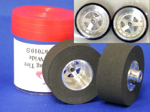 """JDS """"SoftCore"""" .500 Custom Drag Tires - Rear & Front"""