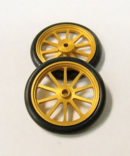 JDS 17&quot; 10 Spoke Drag Fronts <font color=gold><i>&quot;Gold&quot;</font></i>