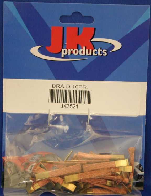 JK 10 pair of Braid