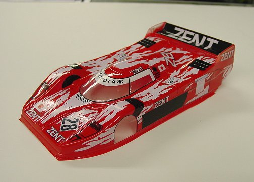 "JK Toyota GT1 ""Custom Painted Red""-New, JK, Toyota, GT1, Custom, Painted, Red,"