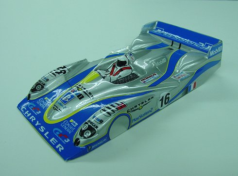 "JK Chrysler ""Playstation-2""- custom painted body-New, JK, Chrysler, Playstation, 2, custom, painted, body, 1/24, scale"