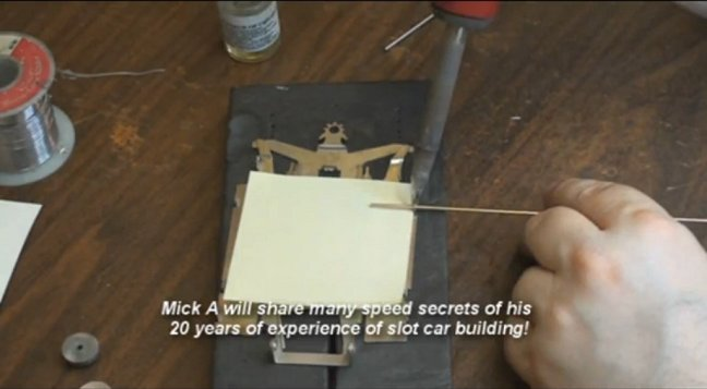Mick A Blue Printing of the JK Cheetah 11 Chassis