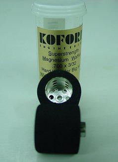 Koford 3/32 x .760 Hard Waffled Hub Wonder Rubber Tire