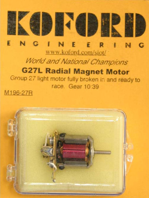 Koford G27L Radial Magnet Motor-