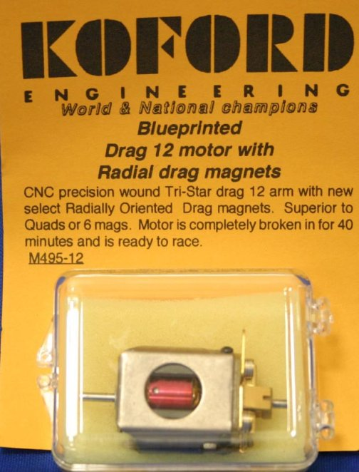 Koford Blueprinted Drag 12 Motor w/Radial drag magnets-