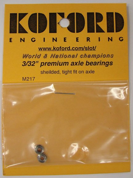 "New! Koford 3/32"" Premium Axle Bearings-"