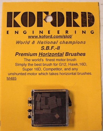Koford Big Foot II Premium Motor Brushes- 6 pk.