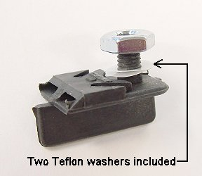 Koford Guide & Nut & Teflon washers-