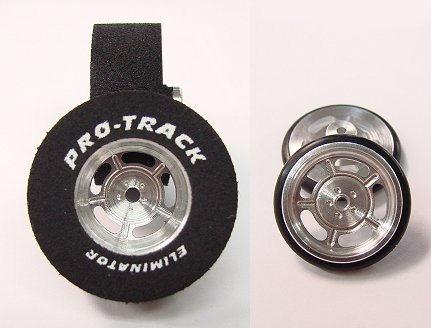 "Pro Track ""Daytona"" 1 3/16"" x .435 Rear & Front Drag Tires"