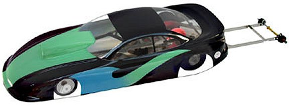 Parma Dodge Stratus Pro Stock - Painted & Trimed Drag Body