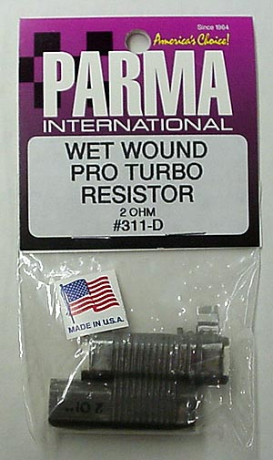 Parma 2 OHM Wet Wound Pro Turbo Double Barrel Resistor-