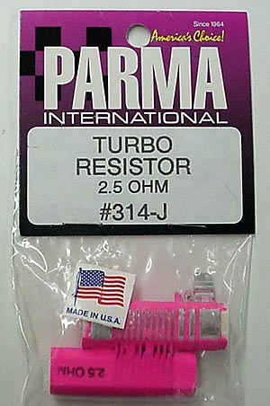 Parma 2.5 OHM Turbo Double Barrel Resistor-