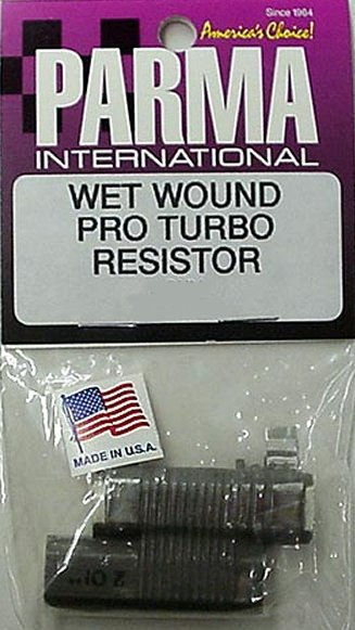 Parma 3 OHM Wet Wound Pro Turbo Double Barrel Resistor-