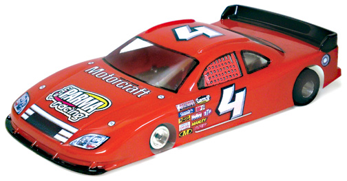 Parma 2008 COT Stock Car Slot Car Body- .007 Clear