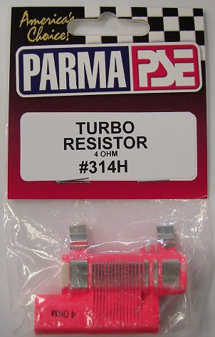 Parma 4 Ohm Turbo Double Barrel Resistor-