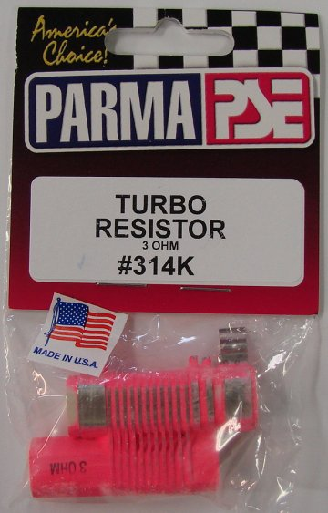 Parma 3 Ohm Turbo Double Barrel Resistor-