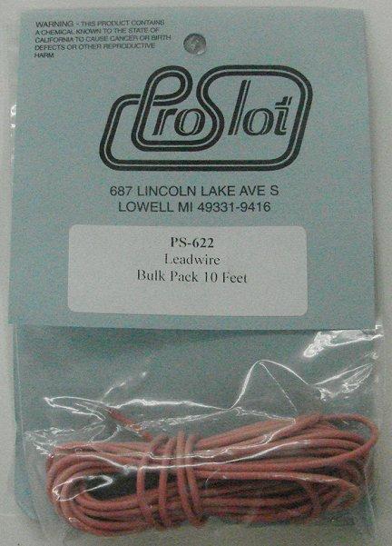 Pro Slot Silicone Leadwire -Bulk Pack 10'