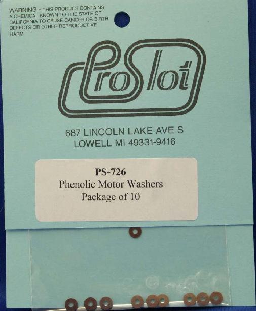 Pro Slot Phenolic Motor Washers-