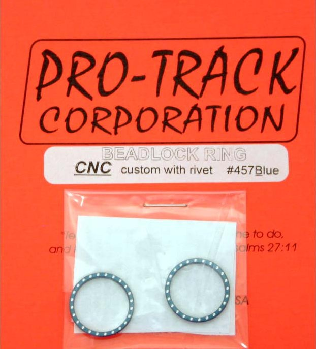 Pro Track Blue Beadlock Ring-