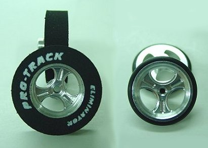 """Pro Track """"Streeter"""" 1/8"""" x 1 1/16"""" x .500 wd Rear & Front Drag Tire-"""