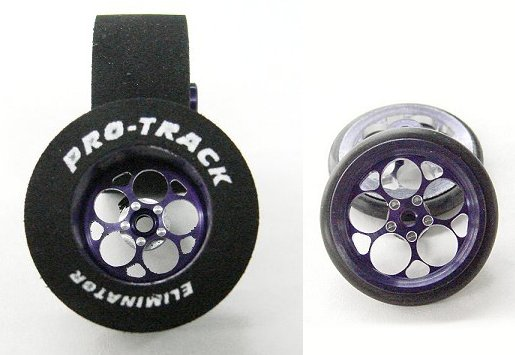 "Pro Track ""Magnum Purple"" .500 Rear & Front Drag Tires"