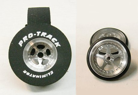 """Pro Track """"Star"""" 1/8"""" x 1 3/16"""" x .500 Rear & Front Drag Tires"""