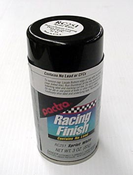 "Pactra Lexan Paint ""Sprint White""-"