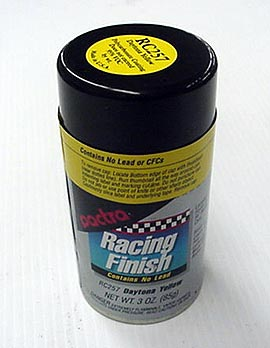 "Pactra Lexan Paint ""Daytona Yellow"" *Limited Supply*"