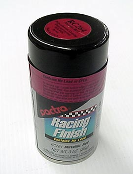 """Pactra Lexan Paint """"Metallic Red"""" *Limited Supply*"""