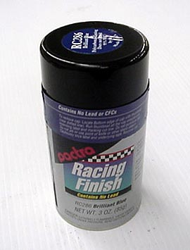 """Pactra Lexan Paint """"Brilliant Blue"""" *Limited Supply*-"""