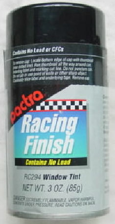 """Pactra Lexan Paint """"Window Tint"""" *Limited Supply*-"""
